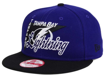 Tampa Bay Lightning New Era NHL Logo Stacker 9FIFTY Snapback Cap