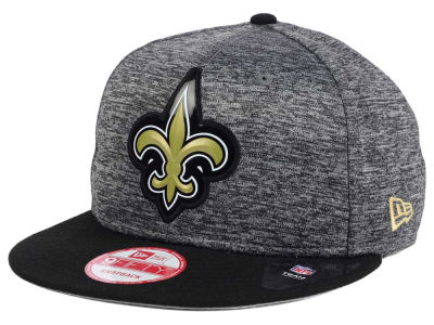 New Orleans Saints New Era NFL Shadow Bevel 9FIFTY Snapback Cap