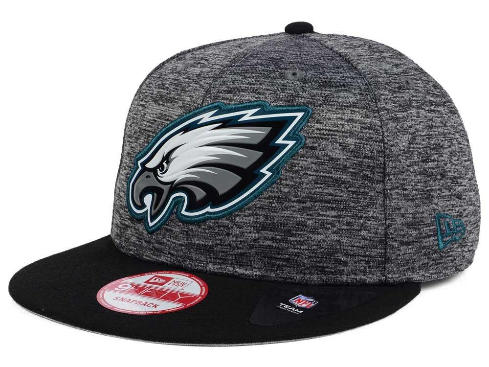 Philadelphia Eagles New Era NFL Shadow Bevel 9FIFTY Snapback Cap ... 5d054afe952f
