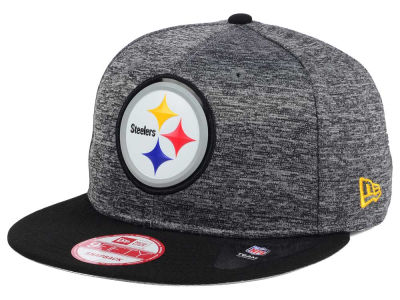 Pittsburgh Steelers New Era NFL Shadow Bevel 9FIFTY Snapback Cap