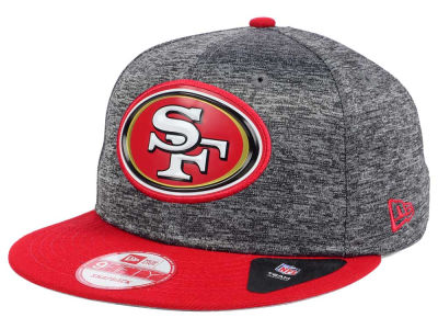 San Francisco 49ers New Era NFL Shadow Bevel 9FIFTY Snapback Cap