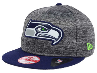 Seattle Seahawks New Era NFL Shadow Bevel 9FIFTY Snapback Cap