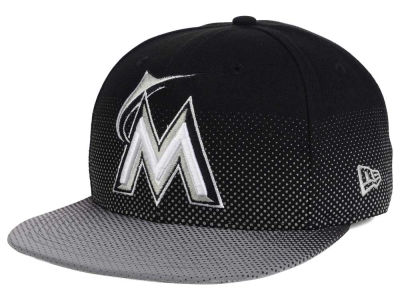 Florida Marlins New Era MLB Flow Flect 9FIFTY Snapback Cap