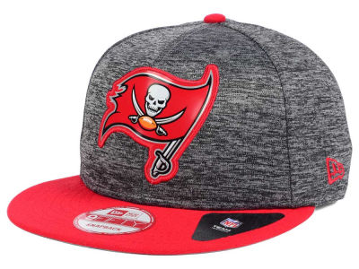 Tampa Bay Buccaneers New Era NFL Shadow Bevel 9FIFTY Snapback Cap