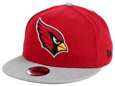Arizona Cardinals New Era NFL Youth Heather 9FIFTY Snapback Cap
