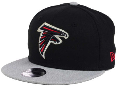 Atlanta Falcons New Era NFL Youth Heather 9FIFTY Snapback Cap