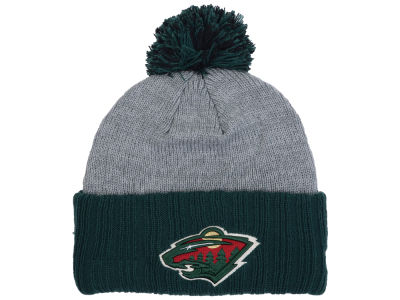 Minnesota Wild New Era NHL Flag Stated Cuffed Knit