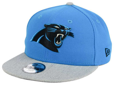 Carolina Panthers New Era NFL Youth Heather 9FIFTY Snapback Cap