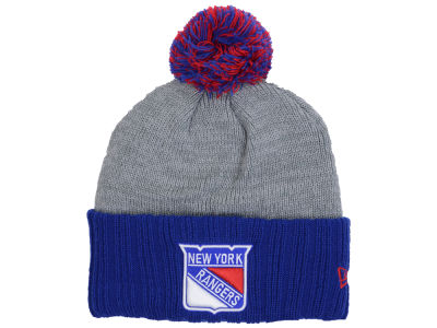 New York Rangers New Era NHL Flag Stated Cuffed Knit