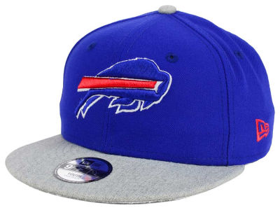 Buffalo Bills New Era NFL Youth Heather 9FIFTY Snapback Cap