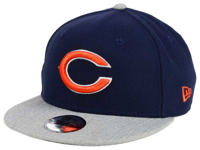 Chicago Bears New Era NFL Youth Heather 9FIFTY Snapback Cap