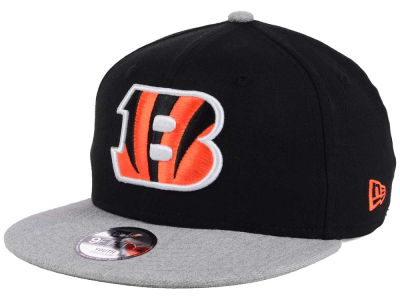 Cincinnati Bengals New Era NFL Youth Heather 9FIFTY Snapback Cap