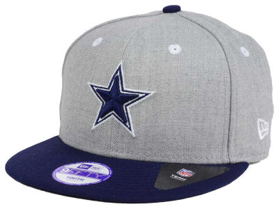 Dallas Cowboys New Era NFL Youth Heather 9FIFTY Snapback Cap