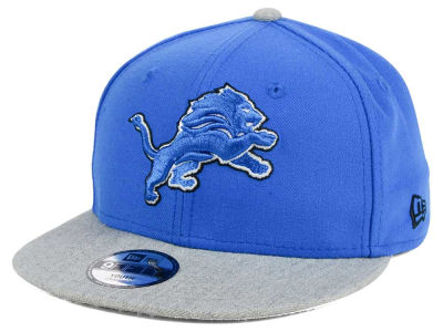 Detroit Lions New Era NFL Youth Heather 9FIFTY Snapback Cap