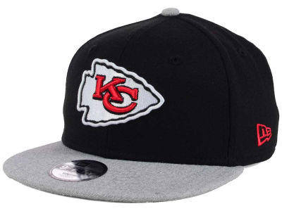 Kansas City Chiefs New Era NFL Youth Heather 9FIFTY Snapback Cap