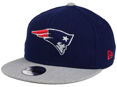 New England Patriots New Era NFL Youth Heather 9FIFTY Snapback Cap
