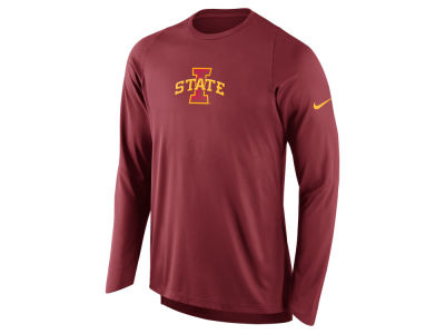 Iowa State Cyclones Nike NCAA Men's Elite Shooter Long Sleeve T-Shirt