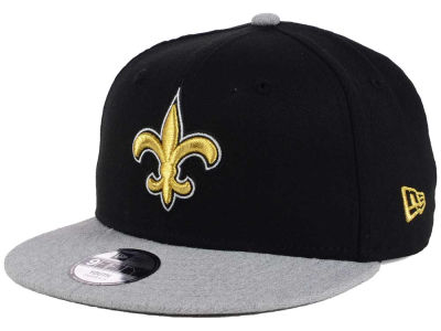 New Orleans Saints New Era NFL Youth Heather 9FIFTY Snapback Cap