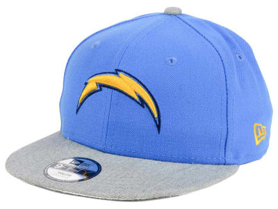 Los Angeles Chargers New Era NFL Youth Heather 9FIFTY Snapback Cap