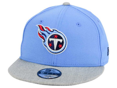 Tennessee Titans New Era NFL Youth Heather 9FIFTY Snapback Cap