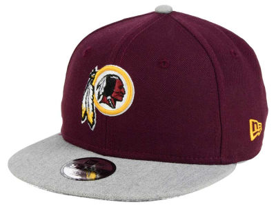 Washington Redskins New Era NFL Youth Heather 9FIFTY Snapback Cap