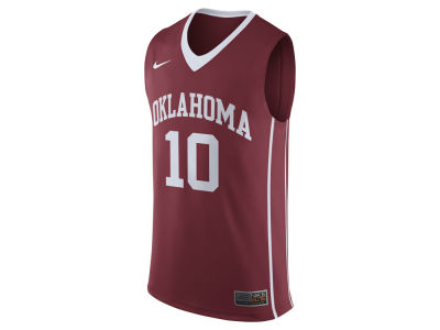 Oklahoma Sooners Nike NCAA Men's 2016 Replica Basketball Jersey