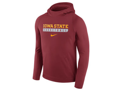 Iowa State Cyclones Nike NCAA Men's Elite Basketball Performance Hoodie