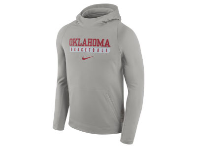 Oklahoma Sooners Nike NCAA Men's Elite Basketball Performance Hoodie