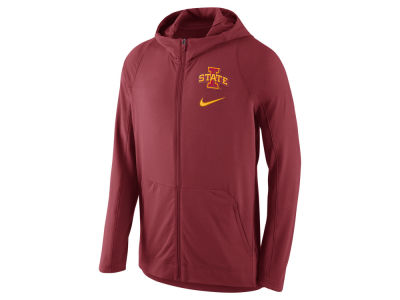 Iowa State Cyclones Nike NCAA Men's Hyper Elite Full Zip Fleece Hoodie
