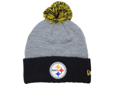 Pittsburgh Steelers New Era NFL Heather Stated Knit