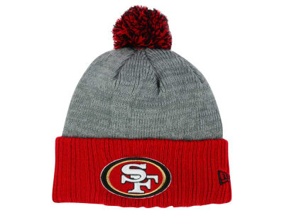 San Francisco 49ers New Era NFL Heather Stated Knit