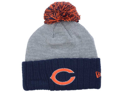 Chicago Bears New Era NFL Heather Stated Knit