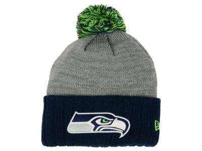 Seattle Seahawks New Era NFL Heather Stated Knit