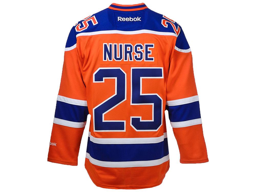 a3b18ac64 Edmonton Oilers Darnell Nurse Reebok NHL CN PT Premier Player Jersey ...