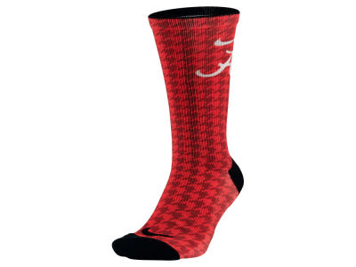 Alabama Crimson Tide Nike NCAA Digital Print Socks