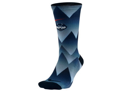 Connecticut Huskies Nike NCAA Digital Print Socks