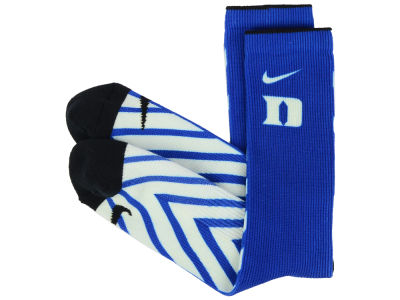Duke Blue Devils Nike NCAA Digital Print Socks