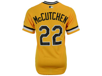 Pittsburgh Pirates Andrew McCutchen Majestic MLB Men's Player Replica Cool Base Jersey
