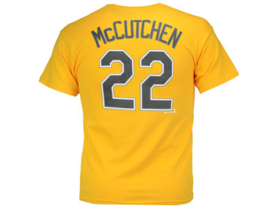 Pittsburgh Pirates Andrew McCutchen Majestic MLB Men's Official Player T-Shirt