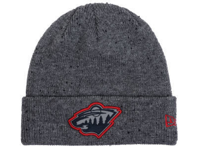 Minnesota Wild New Era NHL Reflective Speckled Cuffed Knit