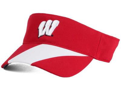 Wisconsin Badgers NCAA Renegade Accent Visor