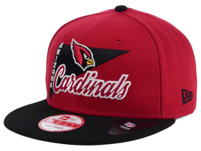 Arizona Cardinals New Era NFL Logo Stacker 9FIFTY Snapback Cap