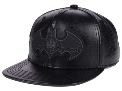 DC Comics 3D Debossed Rubber Snapback Hat