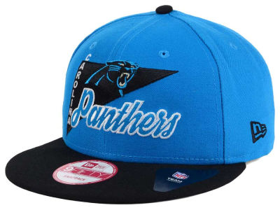 Carolina Panthers New Era NFL Logo Stacker 9FIFTY Snapback Cap