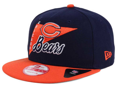 Chicago Bears New Era NFL Logo Stacker 9FIFTY Snapback Cap