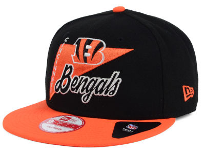 Cincinnati Bengals New Era NFL Logo Stacker 9FIFTY Snapback Cap