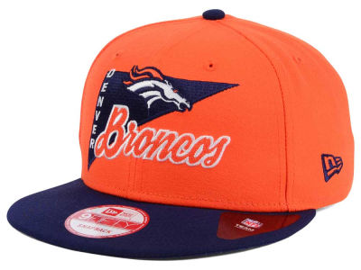 Denver Broncos New Era NFL Logo Stacker 9FIFTY Snapback Cap