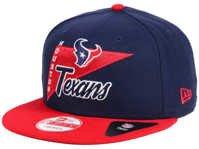Houston Texans New Era NFL Logo Stacker 9FIFTY Snapback Cap