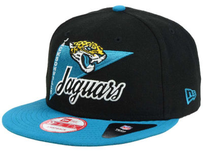 Jacksonville Jaguars New Era NFL Logo Stacker 9FIFTY Snapback Cap