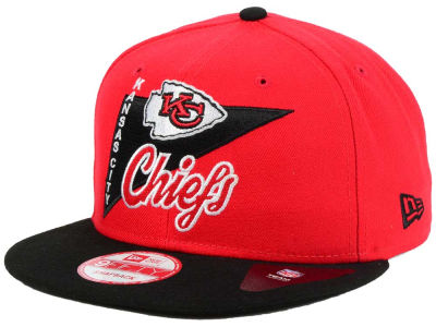 Kansas City Chiefs New Era NFL Logo Stacker 9FIFTY Snapback Cap